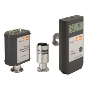 The three product lines of Busch s VacTest vacuum measurement equipment: (from left to right) VacTest Digital Transmitters, VacTest Analog Transmitters, VacTest Mobile Gauges.(Image: Busch)