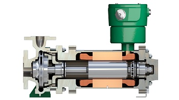 Single-stage canned motor pump type CNF (Image: Hermetic-Pumpen GmbH)