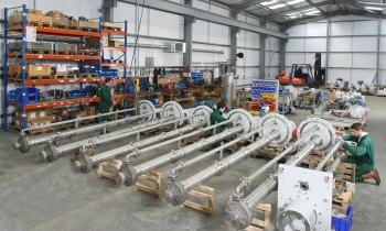 Amarinth engineers undertaking API 610 VS4 pump assembly (Image: Amarinth)