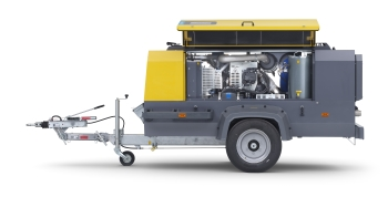 XATS 288 medium air compressor (Image: Atlas Copco)