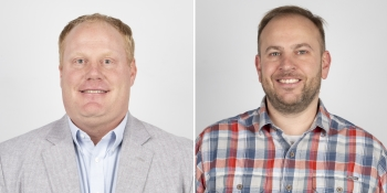 Chris Downey (on the left) and Shane Wright (on the right) are the new Territory Managers at Franklin Electric. (Images: Franklin Electric)