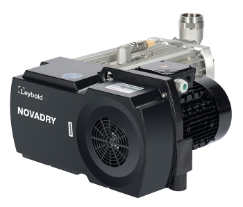 The new 100 percent oil-free screw type vacuum pump Novadry for food processing and packaging (Image: Leybold)