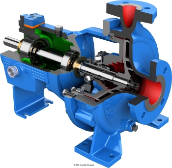 New IC Open Impeller i-FRAME Pump (Image: ITT Goulds Pumps)