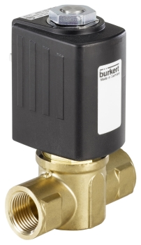 Robust Solenoid Valves for Gaseous Fuels (Image: Bürkert Fluid Control Systems)