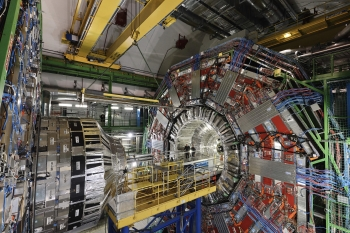 CMS experiment - In order to achieve precise measurements, various detectors are used in close proximity to the interaction point of all experiments. (Image: CERN)
