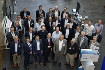 At the Open Integration meeting representatives from the chemical and pharmaceutical industries explained how they benefit from the partner program during digitalization of their process control systems. (Image: Endress+Hauser)