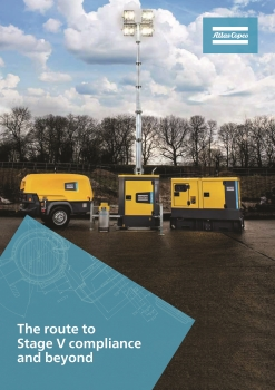 The new e-guide entitled 'The route to Stage V compliance and beyond' (Image: Atlas Copco)