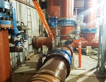 Auma electric actuators at the Santan Vista treatment plant use Ethernet/IP Industrial Ethernet for reliable and rapid communication. (Image: Auma)