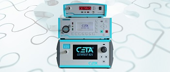 CETA leak and flow testers. Leak tester CETATEST 825 and XS. Flow tester CETATEST 915 (Image: CETA Testsysteme GmbH)