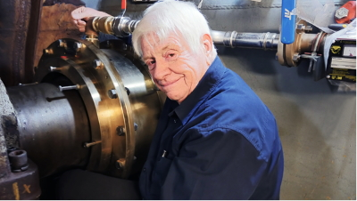 Polymer Pioneer George A. Thomson Wins Prestigious Elmer A. Sperry Award (Image: Thordon Bearings)