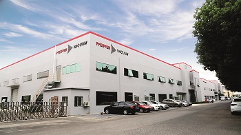 Pfeiffer Vacuum opens new plant in Wuxi China (Image: Pfeiffer Vacuum GmbH)