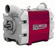 Liquid ring compressor vacuum pump, Wittig Aqualine 2100 (photo: Gardner Denver Wittig GmbH)