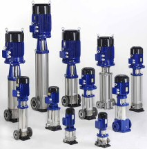 Movitec high pressure pumps from KSB (photo: KSB)