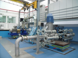 The new automatic pump test facility in Zarautz, Gipuzkoa, Spain. (Image: KSB)