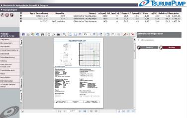 Die Datenblätter werden dynamisch in der eingestellten Sprache und den gewünschten Maßeinheiten erstellt und basieren auf den aktuellen Betriebsdaten. (Foto: VSX – Vogel Software GmbH)