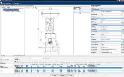 Armaturenauslegung leicht gemacht: Im neuen Auswahlprogramm Spaix 4 Fittings von VSX - VOGEL SOFTWARE können Armaturen mitsamt aller Komponenten ausgelegt werden (Foto: VSX, Dresden).