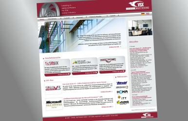 Seit Juni 2009 ist die komplett überarbeitete und neu gestaltete Firmenwebseite von VSX – VOGEL SOFTWARE online. (Foto: VSX – Vogel Software GmbH)