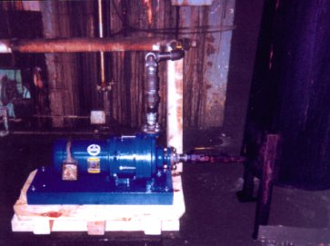 Ultrachem Pumps Help Backware Company to Clean Up