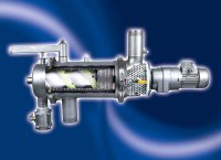 Russell Finex introduces its new horizontal Eco Self-Cleaning Filter at the Pumps & Valves 2002
