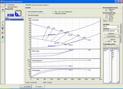 Software streamlines planning and procurement of centrifugal pumps