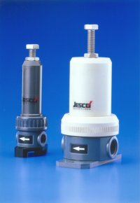 Backpressure and relief valves