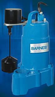 Barnes® Pumps Announces SP33 and SP50 Sump Pumps