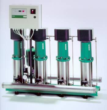 Druckerhöhungsanlagen von Wilo: Comfort-Vario Systeme