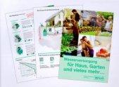 Neue Broschüre von Wilo: Wasserversorgung für Haus und Garten