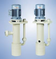 Multi-stage Thermoplastic Close-coupled Vertical Sump Pumps