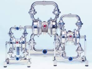 EHEDG-Zertifikat für zwei Druckluft-Membranpumpen