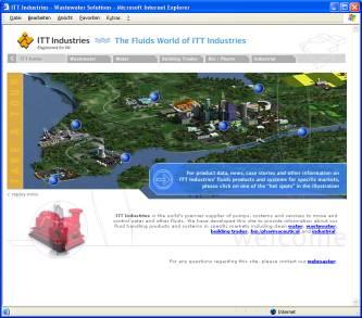 ITT Industries' Fluid Business Unveils New Website
