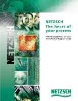 New Netzsch Positive Displacement Pump Catalogue