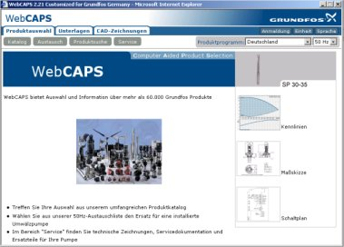 Neue Version von WebCAPS