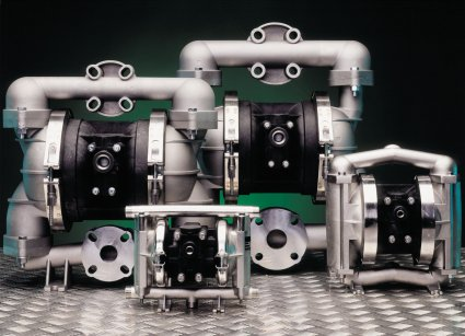 Lutz Air Operated Double Diaphragm Pumps with Atex Certification