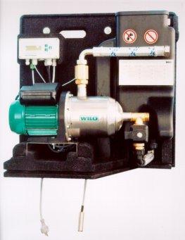 Neues Regenwassernutzungsmodul von Wilo