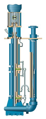 Goulds Vertical Sump Pumps for Molten Sulfur