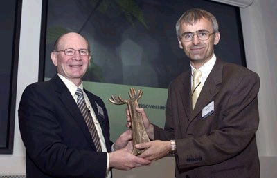 The Grundfos Prize 2004 Goes to Renowned Danish Scientist