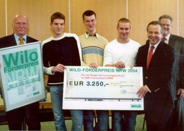 Wilo-Förderpreis 2004