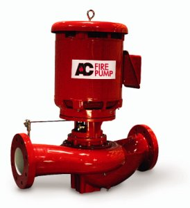 A-C Fire Pump® Introduces New 1250/1500 GPM Vertical In Line Fire Pump