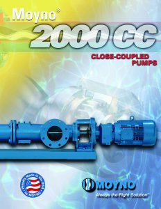 Moyno Releases New Brochure on Moyno 2000 CC Pump