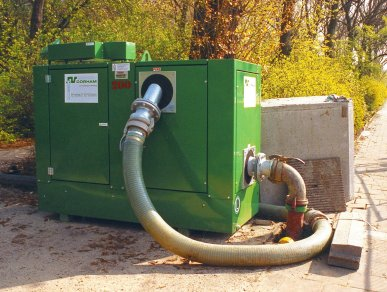 BETSY – The Emergency Overpumping Station
