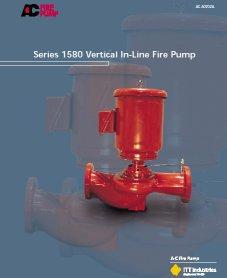 New A-C Fire Pump Bulletin Highlights Vertical In-Line Fire Pump