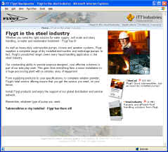 New Site with Focus on Steel Industry