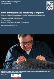 9th European Fluid Machinery Congress