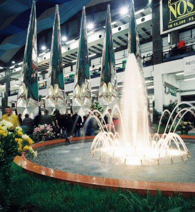 Rovatti Pumps Feed the Fountains at Euroflora