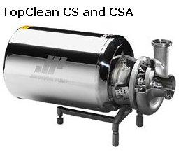 TopClaean Pumps for Hygienic Pumping