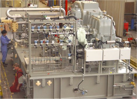 Allweiler Supplies Heaviest Lubricating Modules for Hitachi
