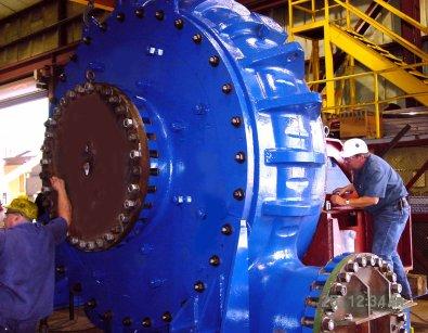 Giant Pump for Mongolia