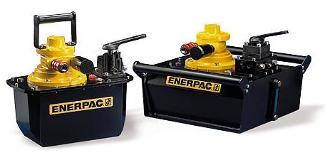 Next Generation Air Powered Hydraulic Pumps