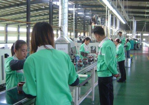 Neues Produktionszentrum für Trockenläufermotoren